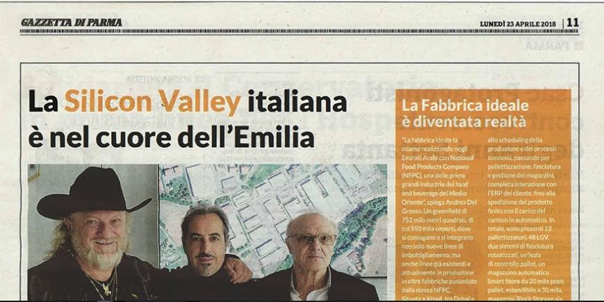 LA SILICON VALLEY ITALIANA E' NEL CUORE DELL'EMILIA